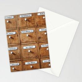 Pharmacy storage Stationery Cards