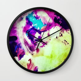 Dream of the Blue Rabbit Wall Clock