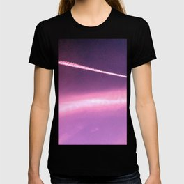 Blotchiness in sky T-shirt