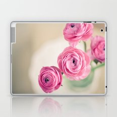 Ranunculus in Morning Light Laptop & iPad Skin
