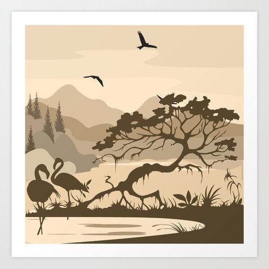 My Nature Collection No. 56 Art Print