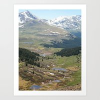 Mount Evans Wilderness Art Print