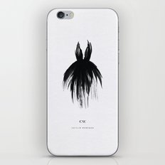 Little Black Gown iPhone Skin
