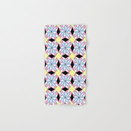 symetric patterns 29 bis -mandala,geometric,rosace,harmony,star,symmetry Hand & Bath Towel