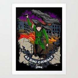 Warsaw Uprising Art Print