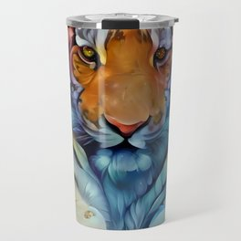 Painted Tiger Travel Mug