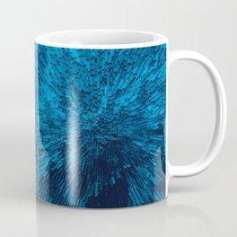 Bold Burst in Blue Coffee Mug