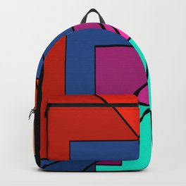 Modern Neon Spectrum Backpack