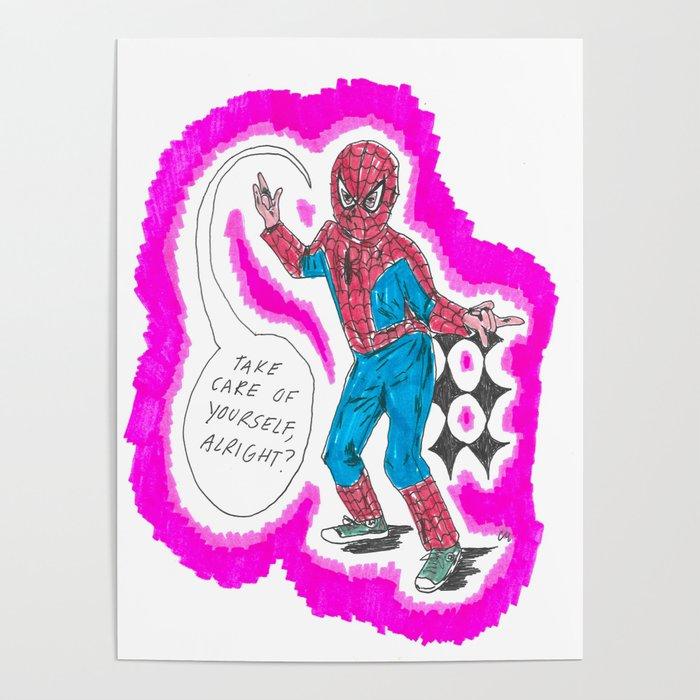 KID SPIDER Poster