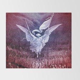 Archangel Michael Throw Blanket