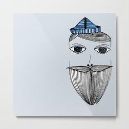boat head Metal Print