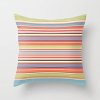 Throw Pillows featuring You're in my spot. (Sheldon's Pillow) by John Medbury (LAZY J Studios)