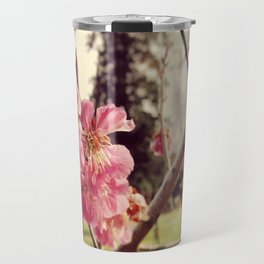 Cherry Blossoms Travel Mug