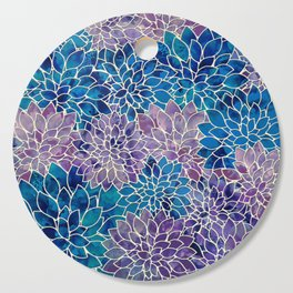 Floral Abstract 34 Cutting Board