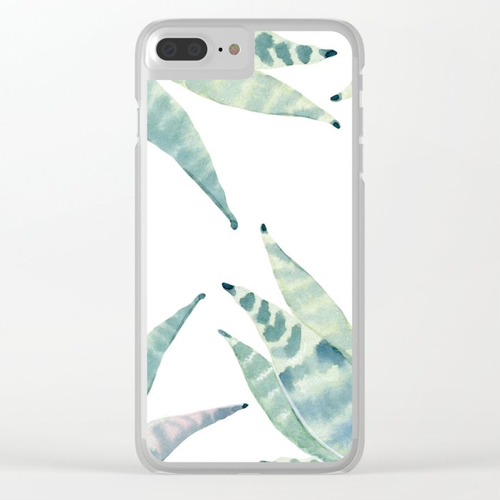 Bloom Anew Clear iPhone Case