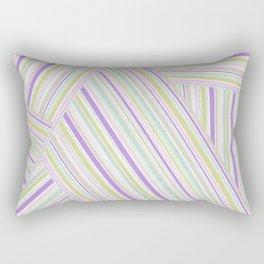 Abstract striped pattern. 2 Rectangular Pillow