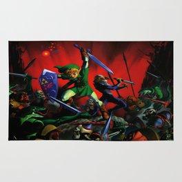zelda sword war Rug