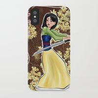 mulan iPhone & iPod Cases featuring Mulan by Ai-hime