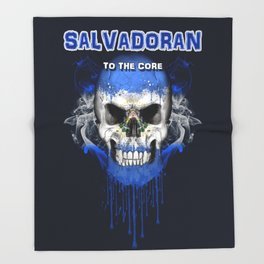 To The Core Collection: El Salvador Throw Blanket