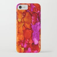 fierce iPhone & iPod Cases featuring Fierce by Claire Day