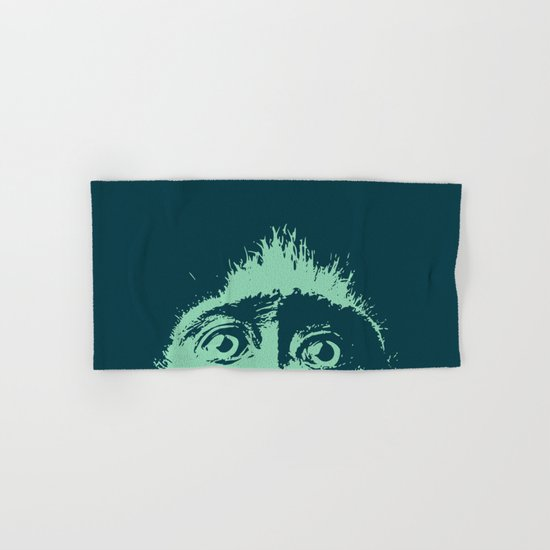 Peeping tom Hand & Bath Towel