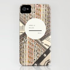 Royal Quote Scramble iPhone (4, 4s) Slim Case