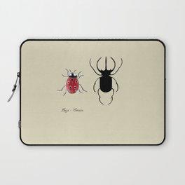 Beetle & Ladybug Laptop Sleeve