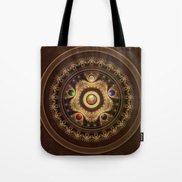 Gathering the Five Fractal Colors of Magic Tote Bag