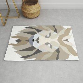 Polygonal Lion Rug