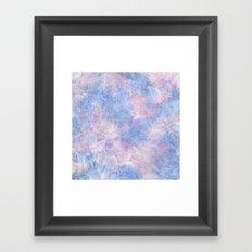 Frozen Leaves 10 Framed Art Print