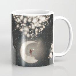 The Big Journey of the Man on the Moon  Coffee Mug