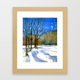 A Winter's Tale Framed Art Print