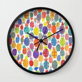 Piñas Wall Clock