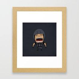 Screaming Johnny Rico Framed Art Print