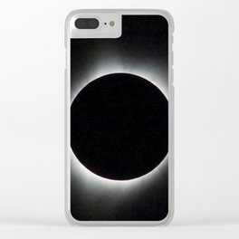 Total Solar Eclipse 2017 Clear iPhone Case