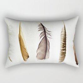 Five Feathers Rectangular Pillow