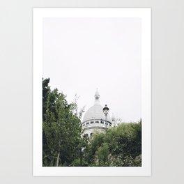Paris amongst the Trees Art Print