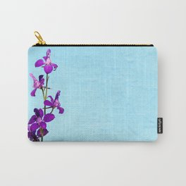 Purple Delphinium Space to Think Carry-All Pouch