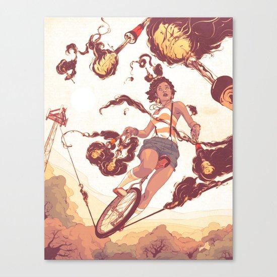Trickle Down Effect Canvas Print