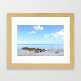 Naples Beach Framed Art Print