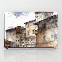 italy iPad Cases featuring Cortona, Italy by zawij