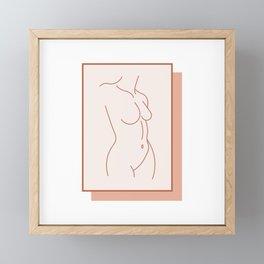 Female Form #1 Framed Mini Art Print