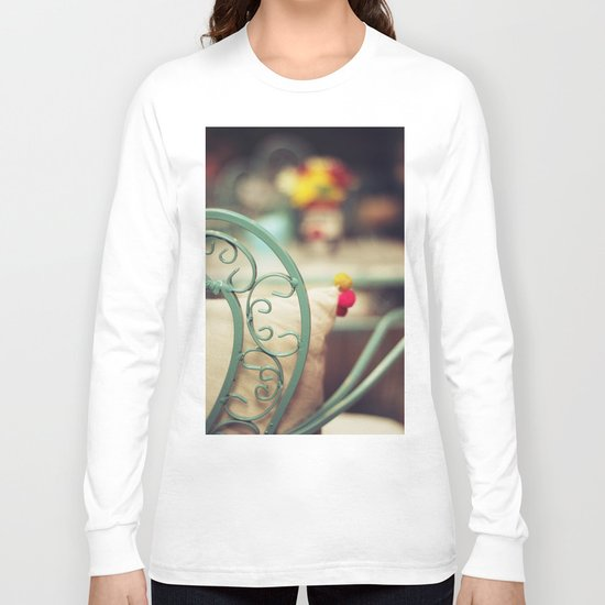 The chair and the pillow Long Sleeve T-shirt