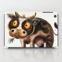 cow iPad Cases featuring Cow by Riccardo Pertici