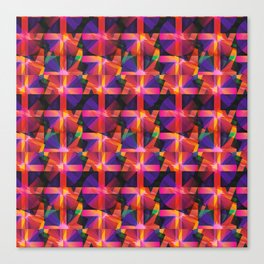 Abstract blocks pattern 2 Canvas Print