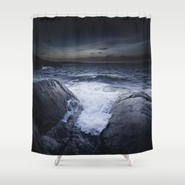 Crashing memories Shower Curtain