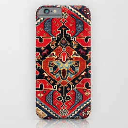 Qashqa'i Antique Fars Persian Bag Face Print iPhone Case
