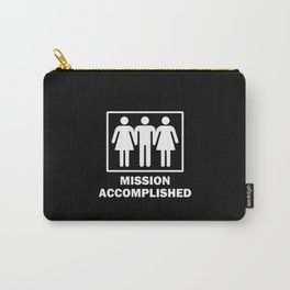 Mission Accomplished Carry-All Pouch