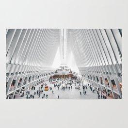 the oculus new york city Rug