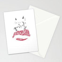 Bad Cat - Gatos Locos Stationery Cards